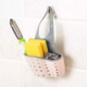 Sponge & Soap Bathroom & Kitchen Sink Caddy Organizer with Quick Drain