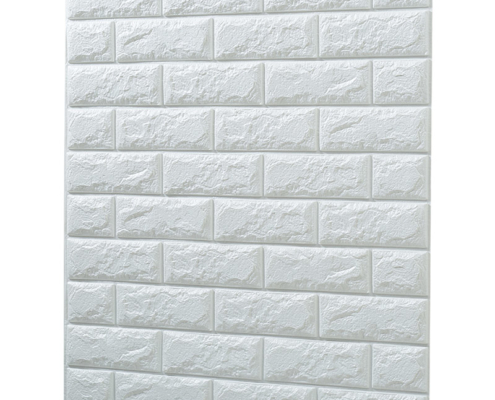 Easy-Application Soft Faux Foam Wallpaper Brick Look Alike with Self-Adhesive